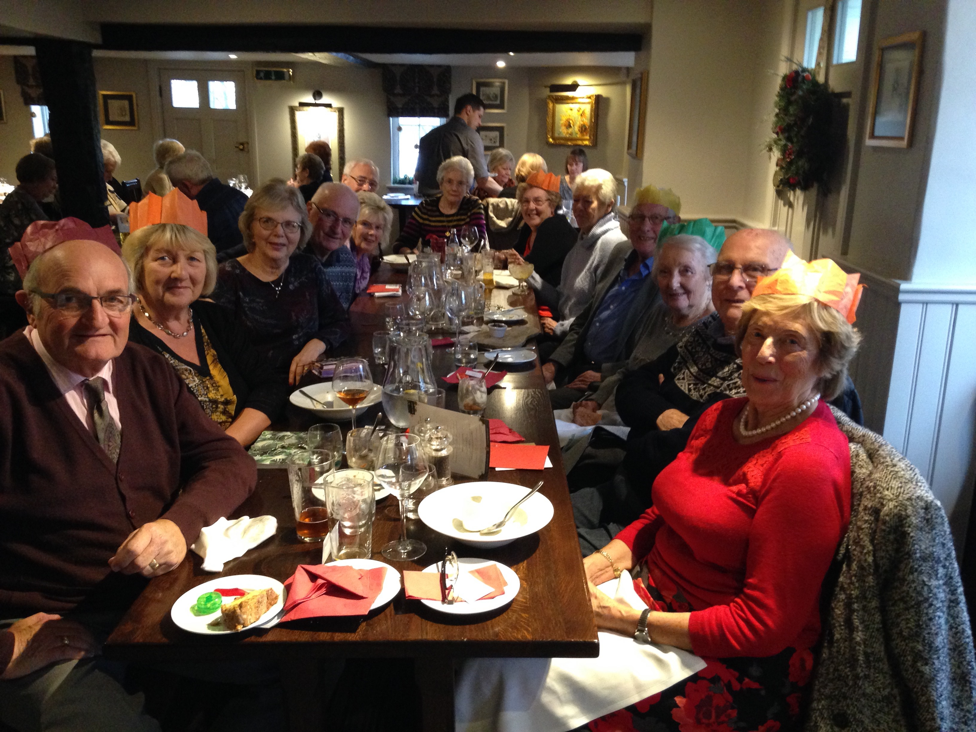 Christmas Lunch at Gt Leighs