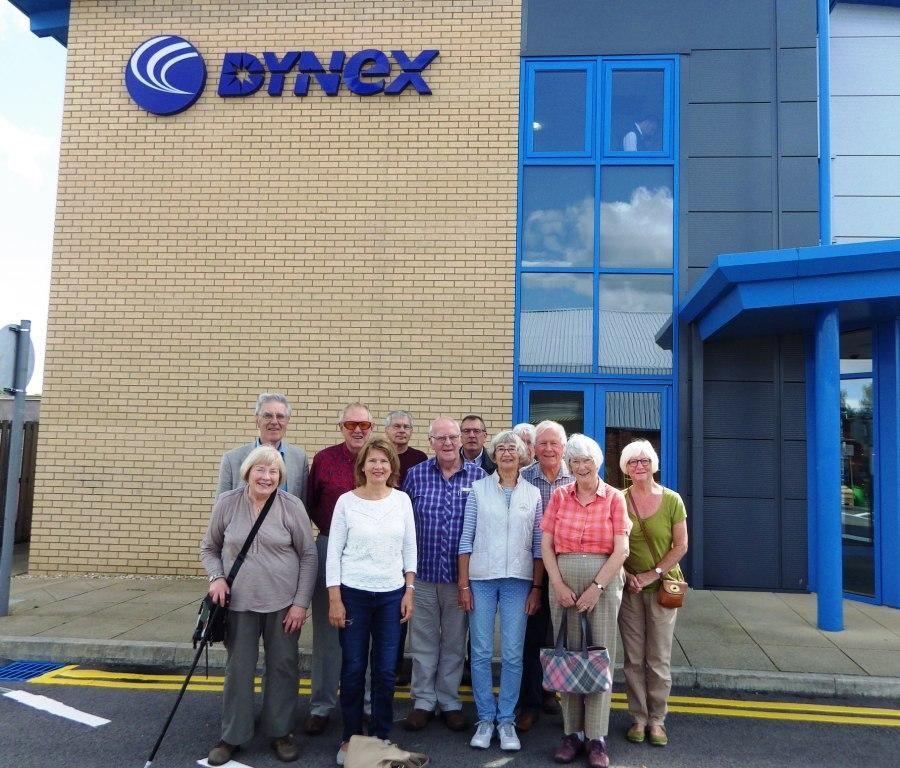 Visit to Dynex in August 2017