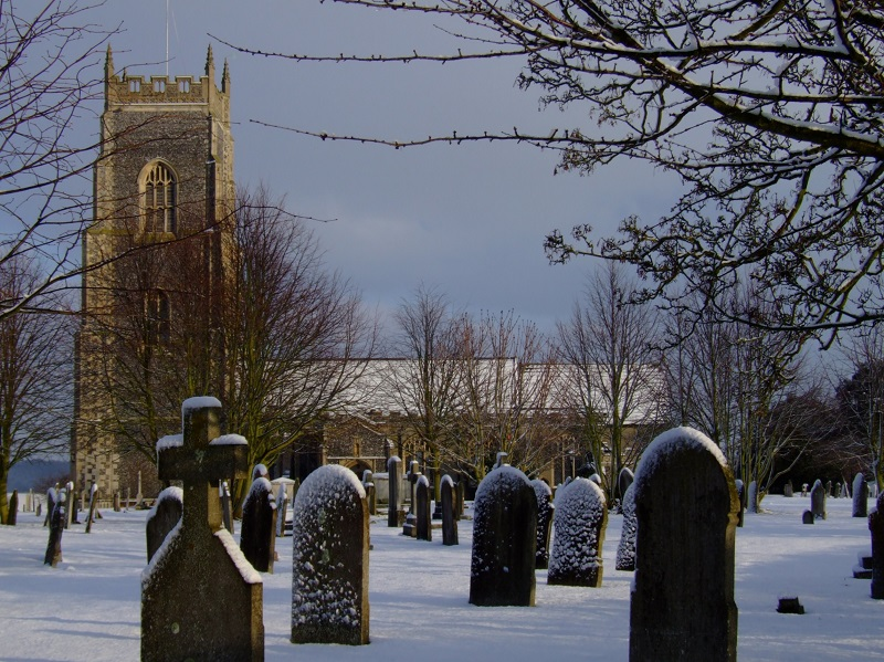 Winter All Saints Chuch