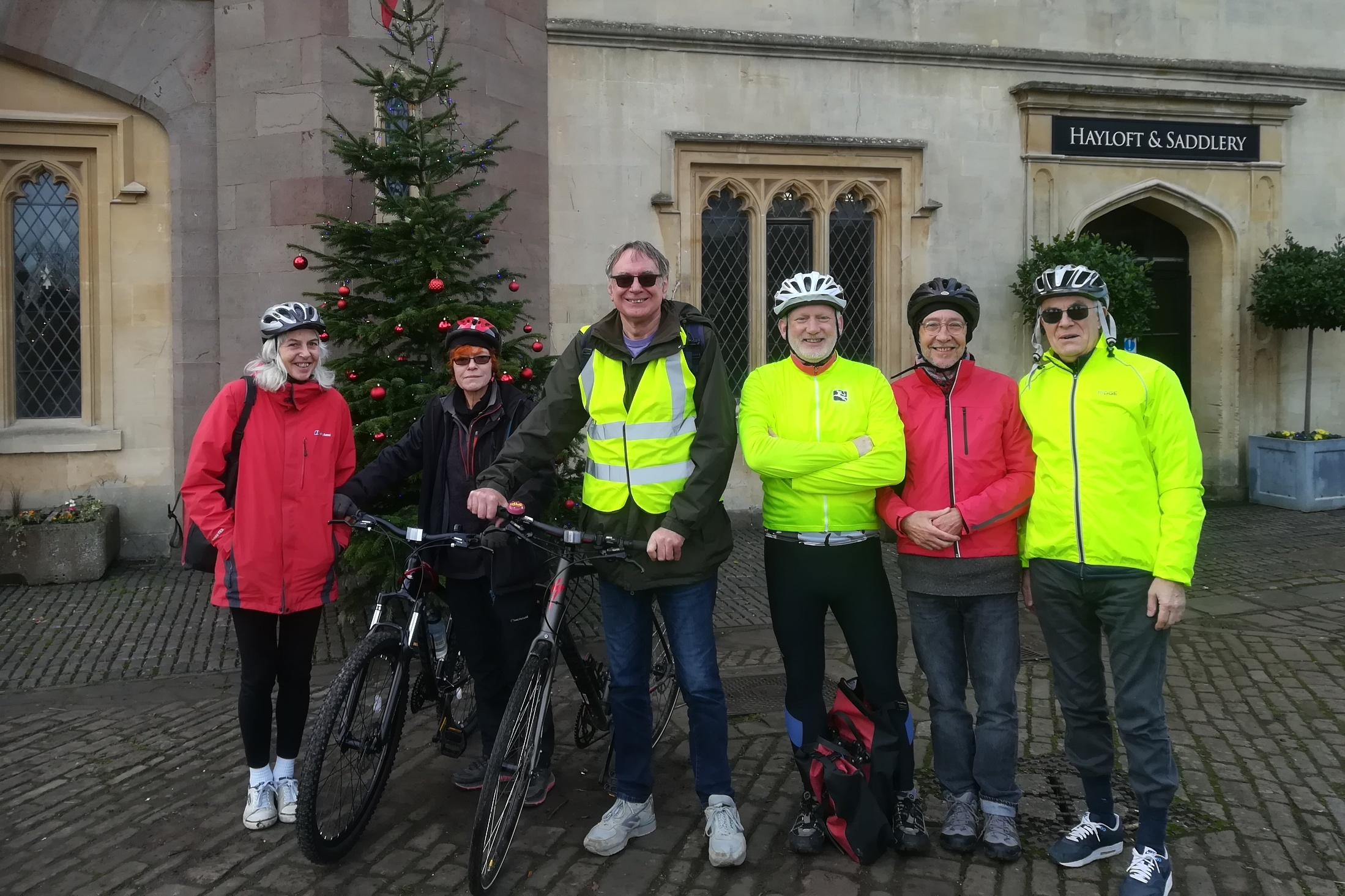 Cycling Group at Ashton Court