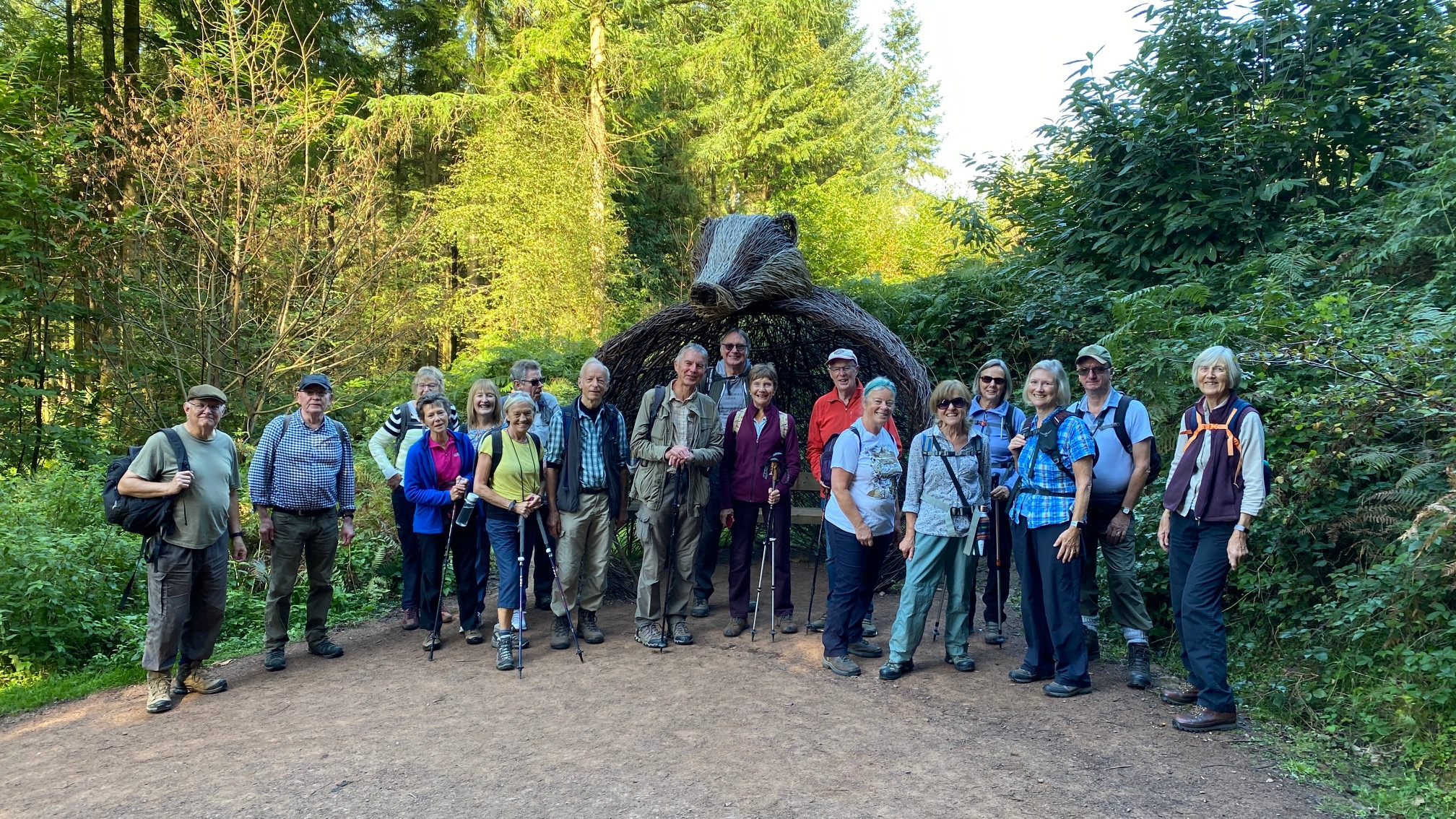 Forest of Dean Sculpture Trail 24th Sept