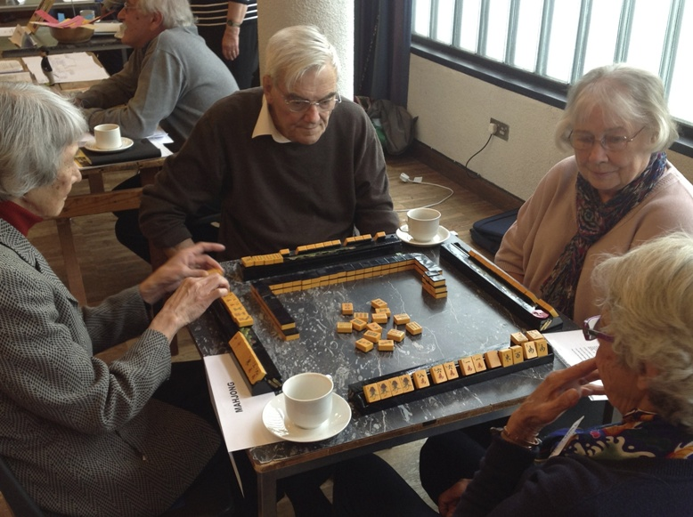 A sociable game of Mahjong