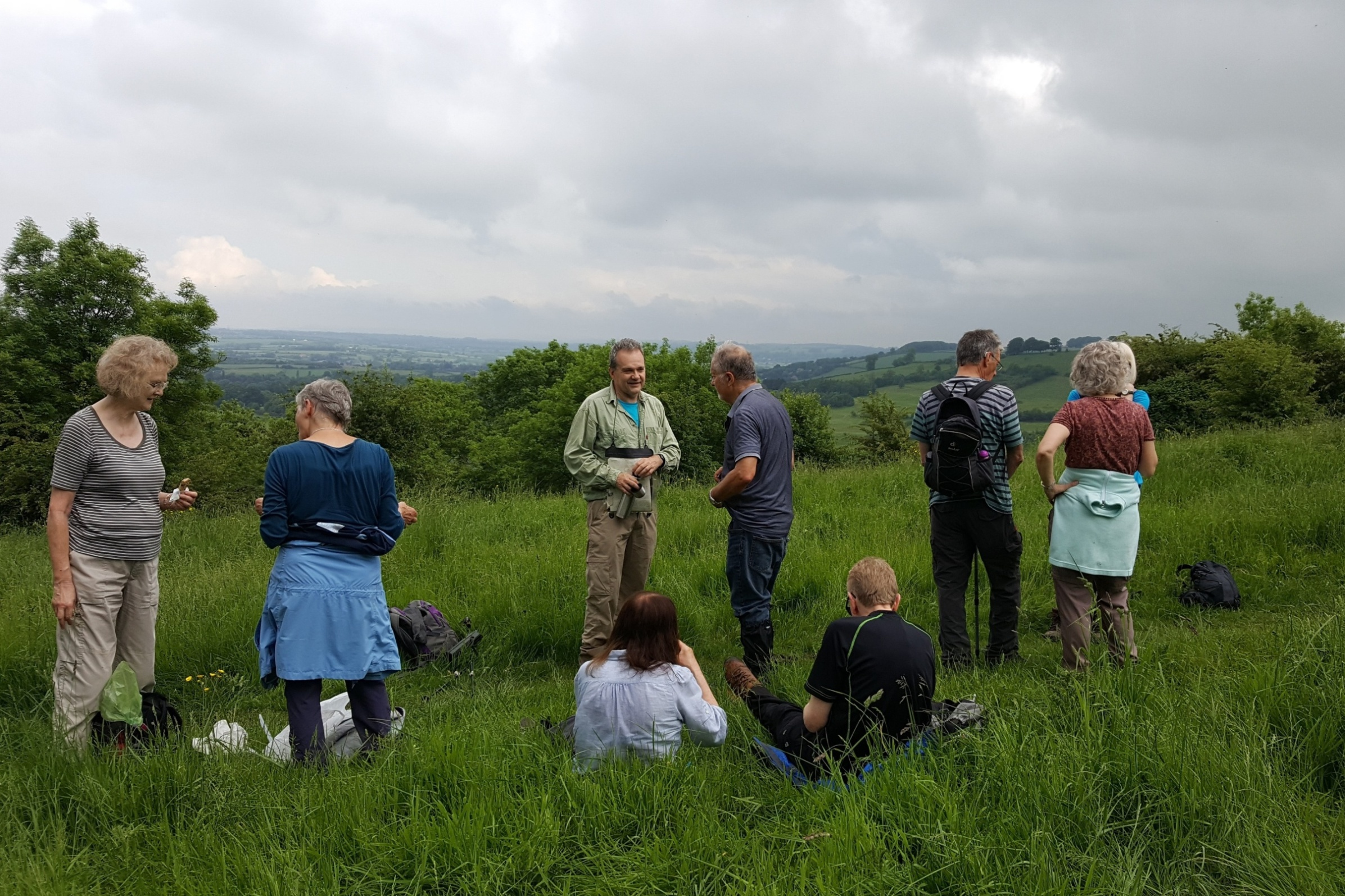 Hanging Hill 1st June 2018