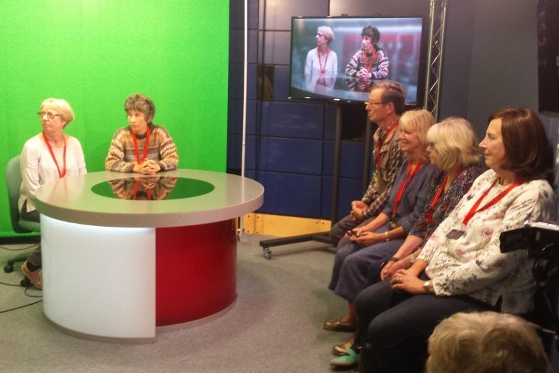 Visit to BBC studios
