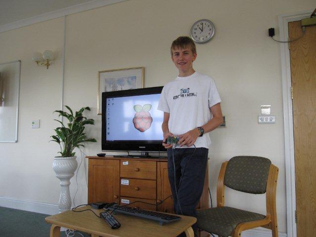 Recent speaker on the Raspberry Pi