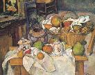 Cezanne, The Kitchen Table