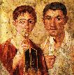 The Baker and his Wife from Pompeii