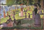 Seurat, Sunday Afternoon on the Island