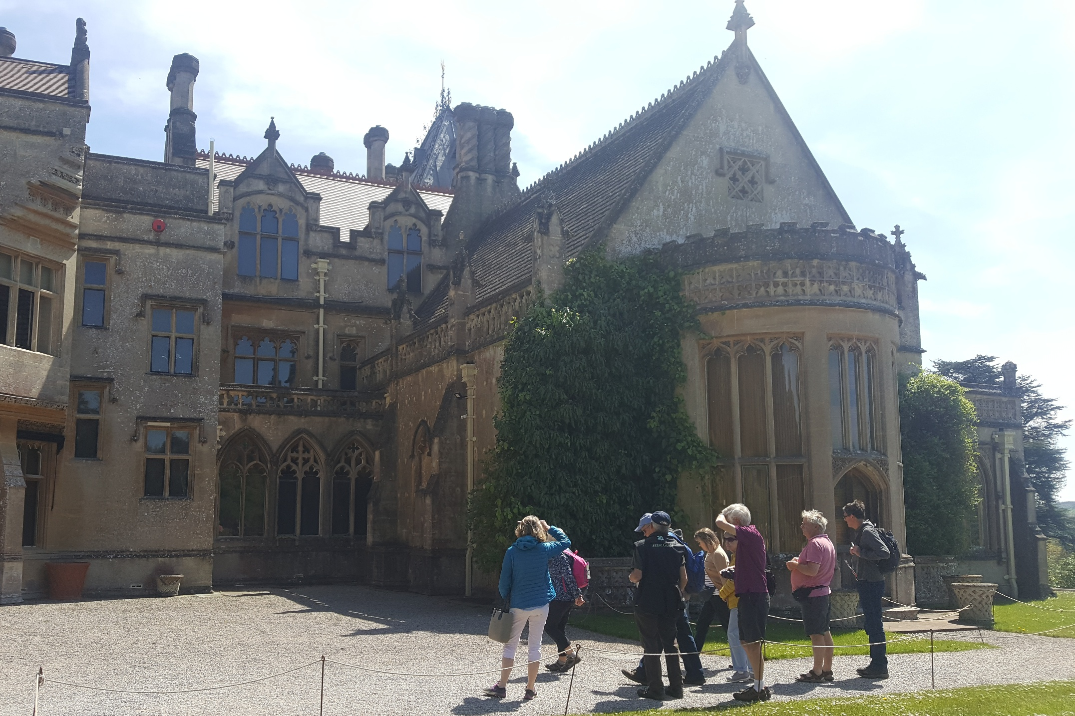 Visit to Tyntesfield