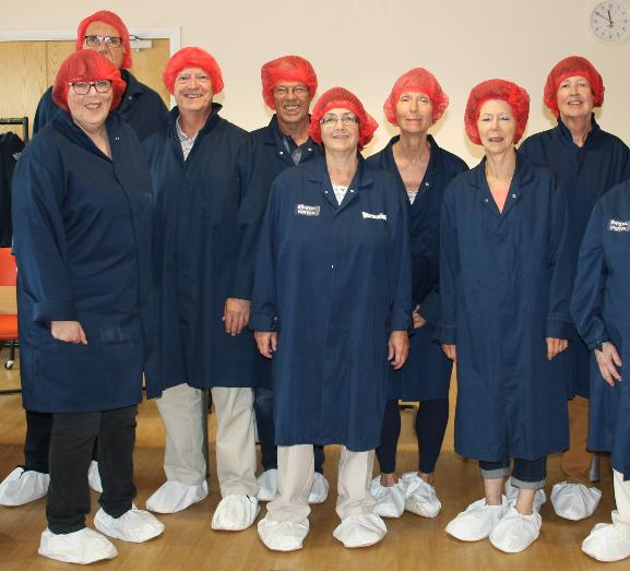 Visit to Warburtons Factory