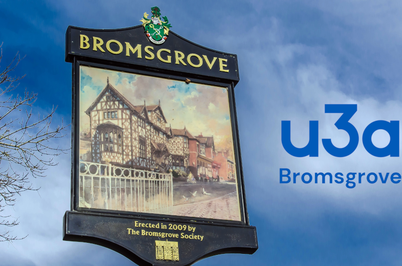 A warm welcome from Bromsgrove u3a