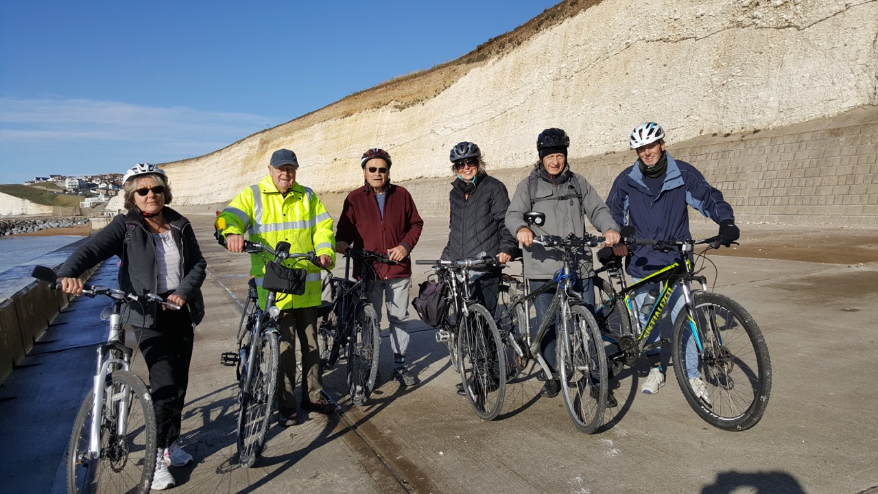 Last Cycling group meeting of the year
