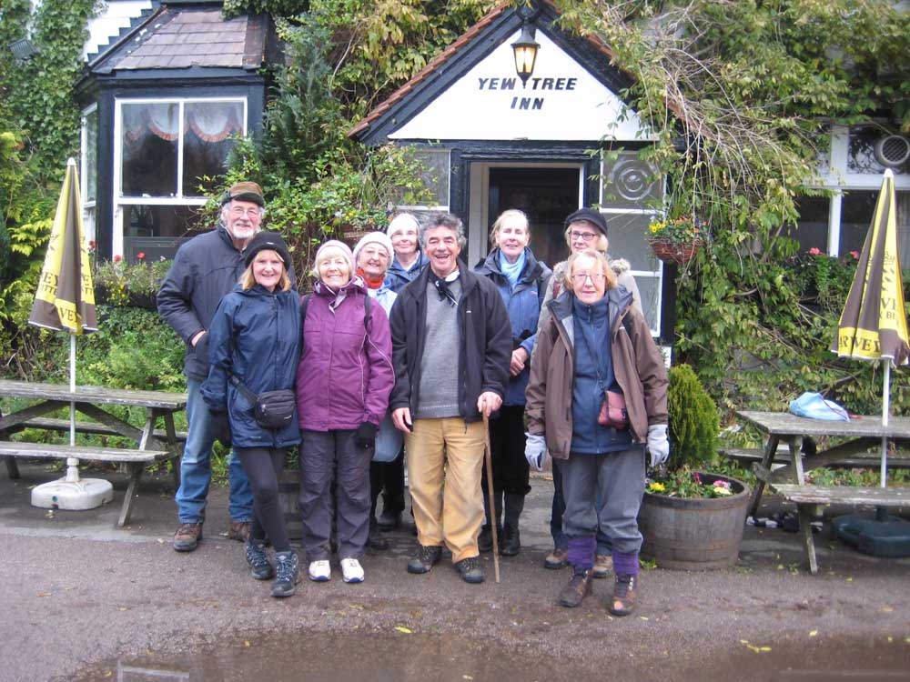 Stopping at the Yew Tree Inn