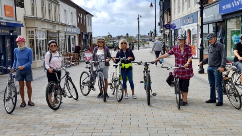 U3A Cycling group in Shoreham Sept2019
