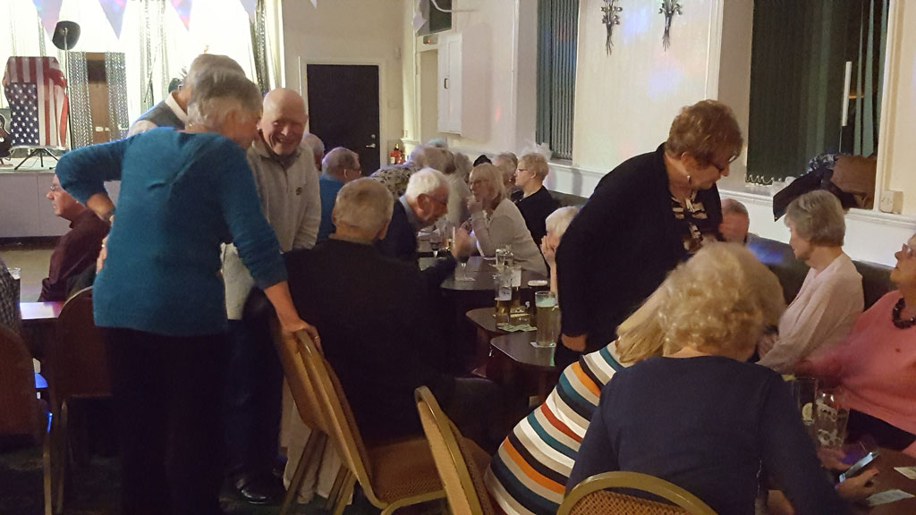 Social evening with Jim Gray