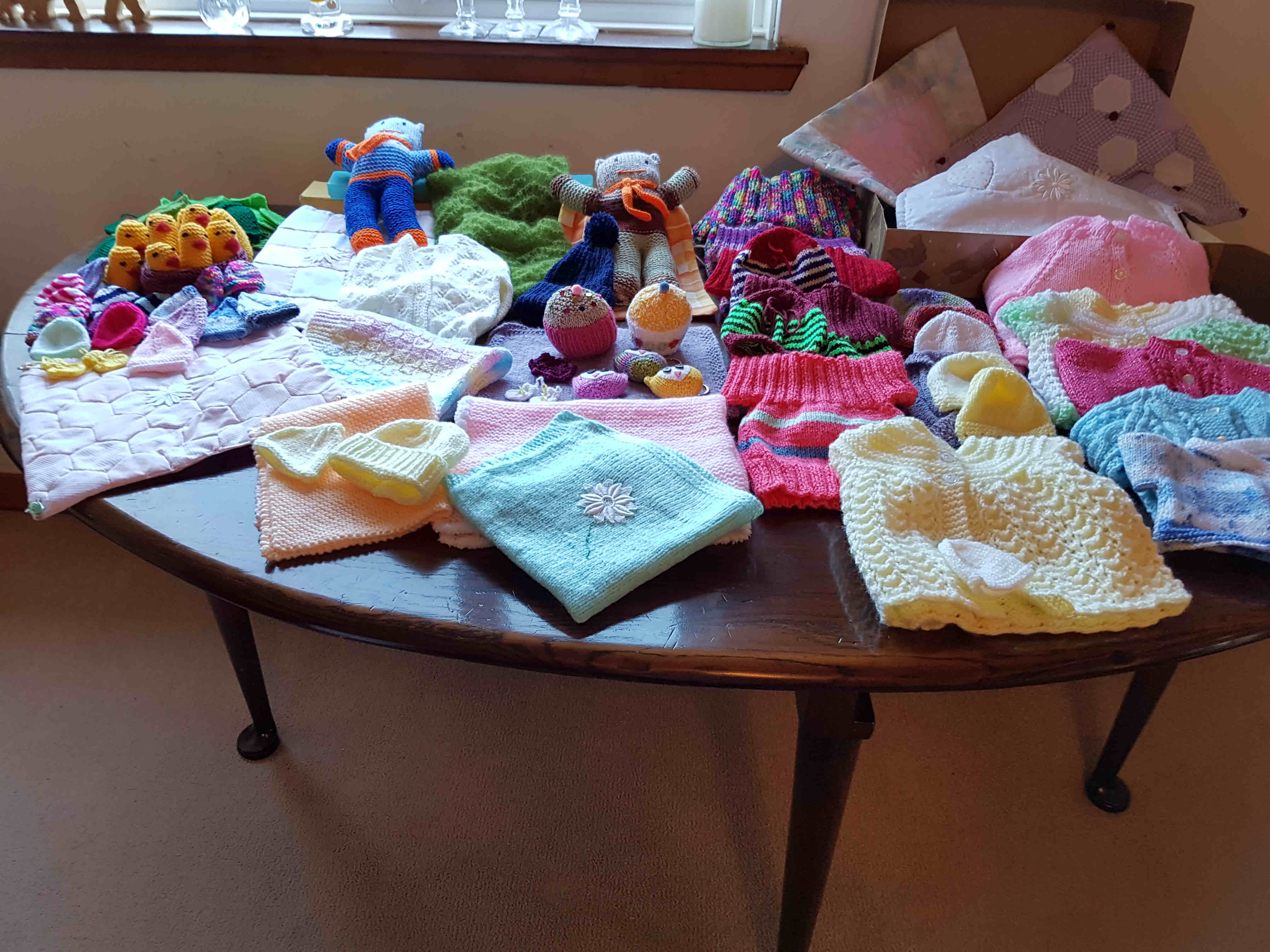 Things knitted by the group