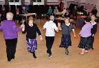 Scottish Country Dance team in action