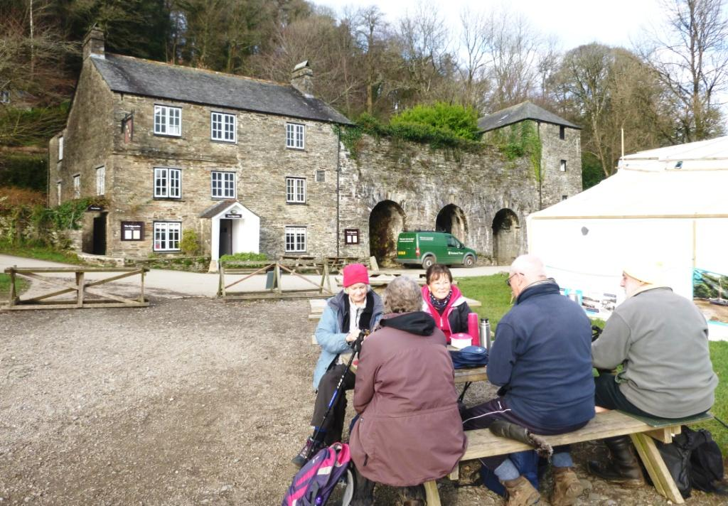 Lunch at Cotehele Quay
