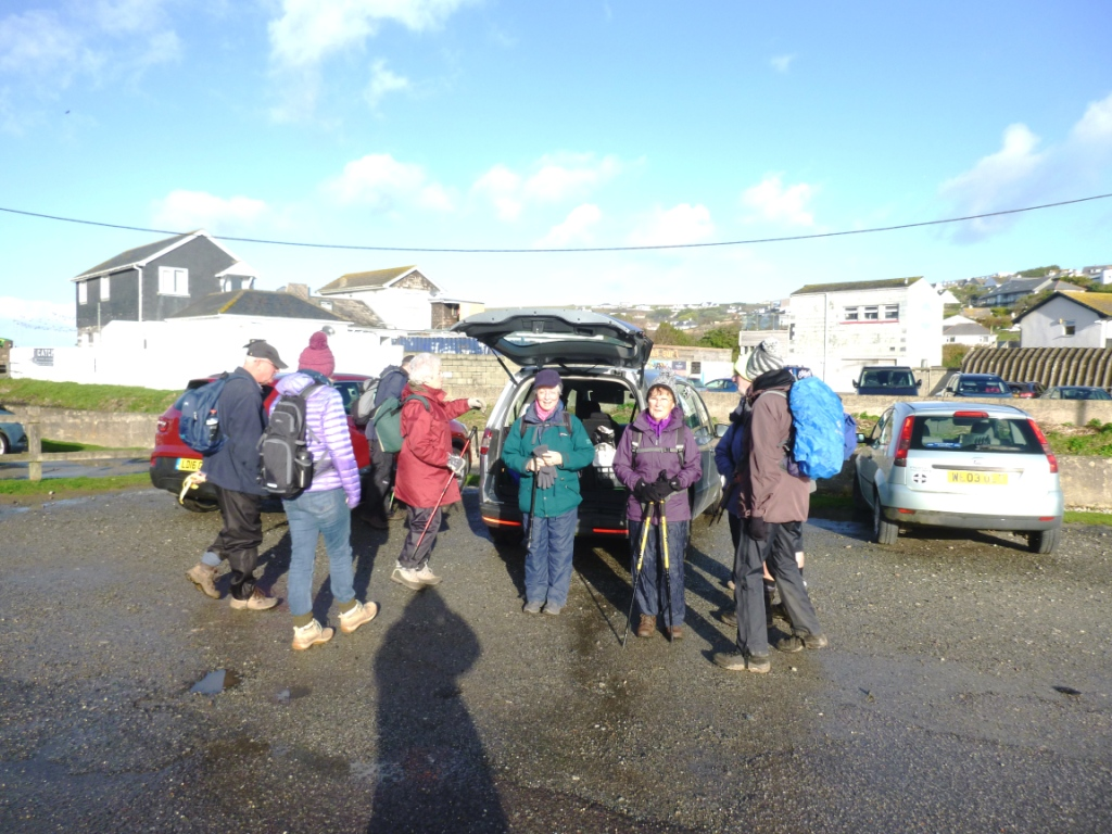 Setting off from St Mawgan