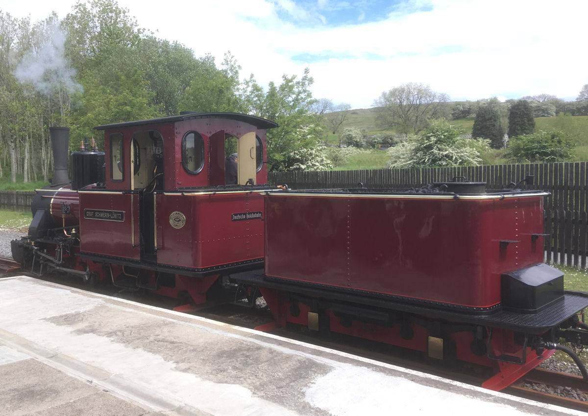 Brecon Mountain Railway May 2019