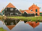zaanse schans holland reflections