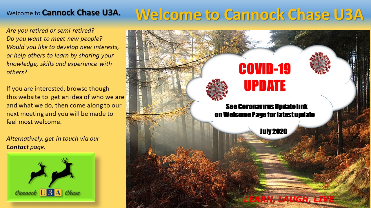 Welcome to Cannock Chase(COVID 19)