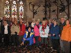 Walkers in Abbots Bromley Church