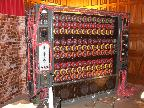 Bombe machine (front), Bletchley Park