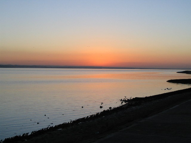 RIVER THAMES FROM CANVEY ISLAND