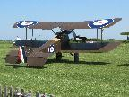 Plane at Stow Maries