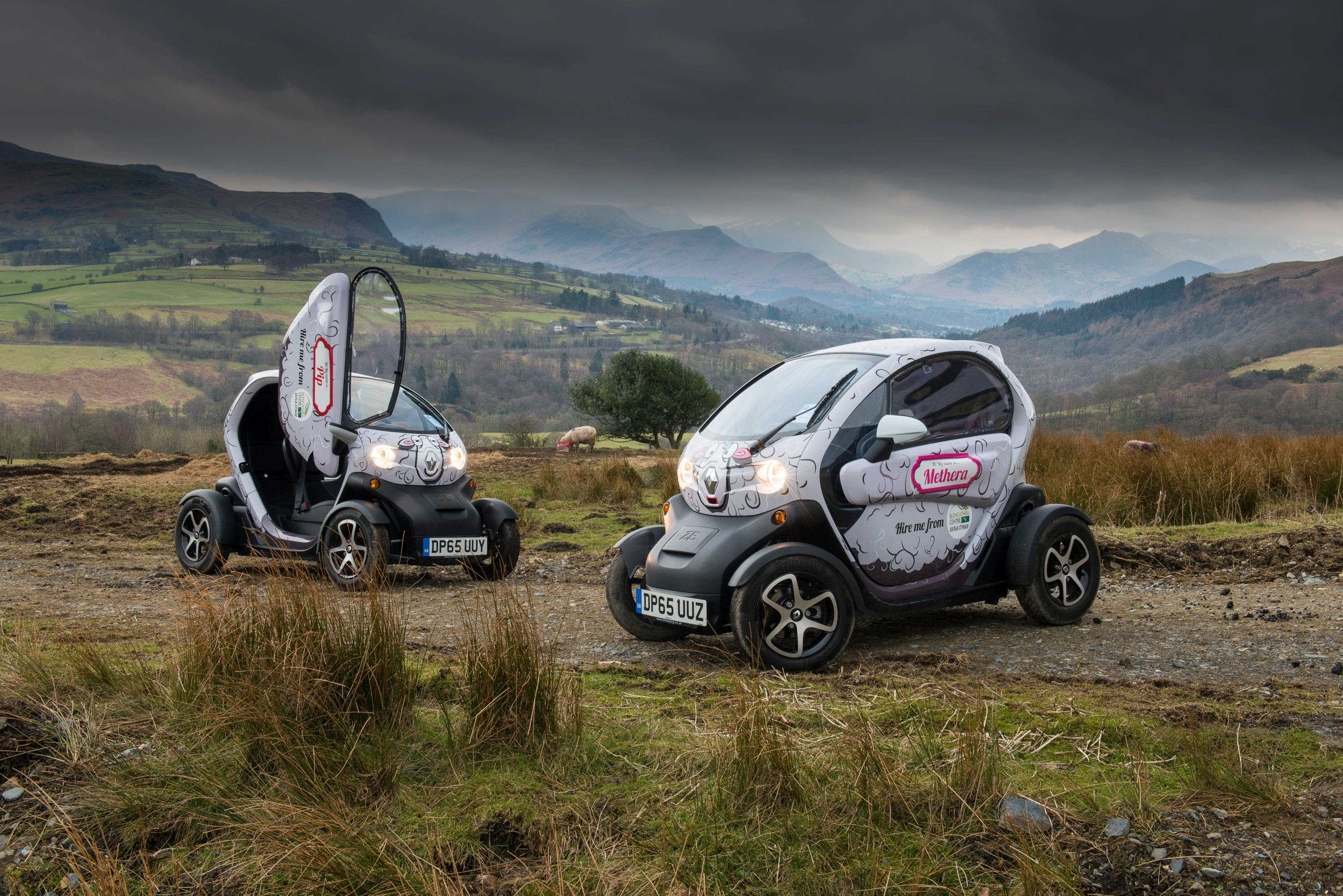 Electric cars - Blencathra Field Centre