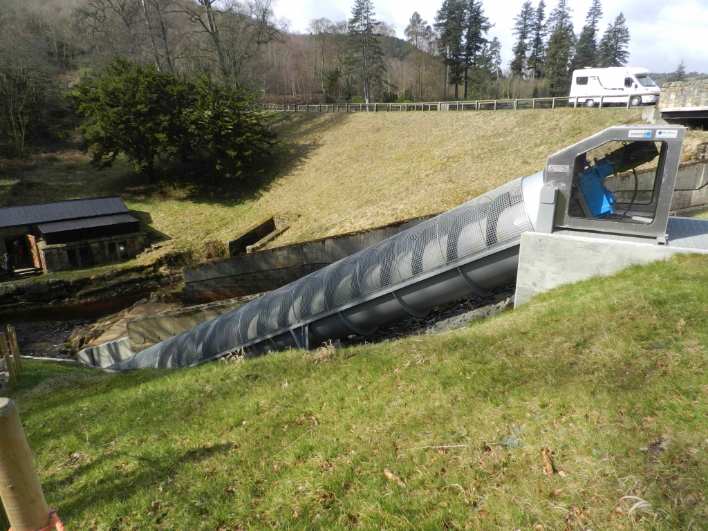 Hydro Electric power at Cragside