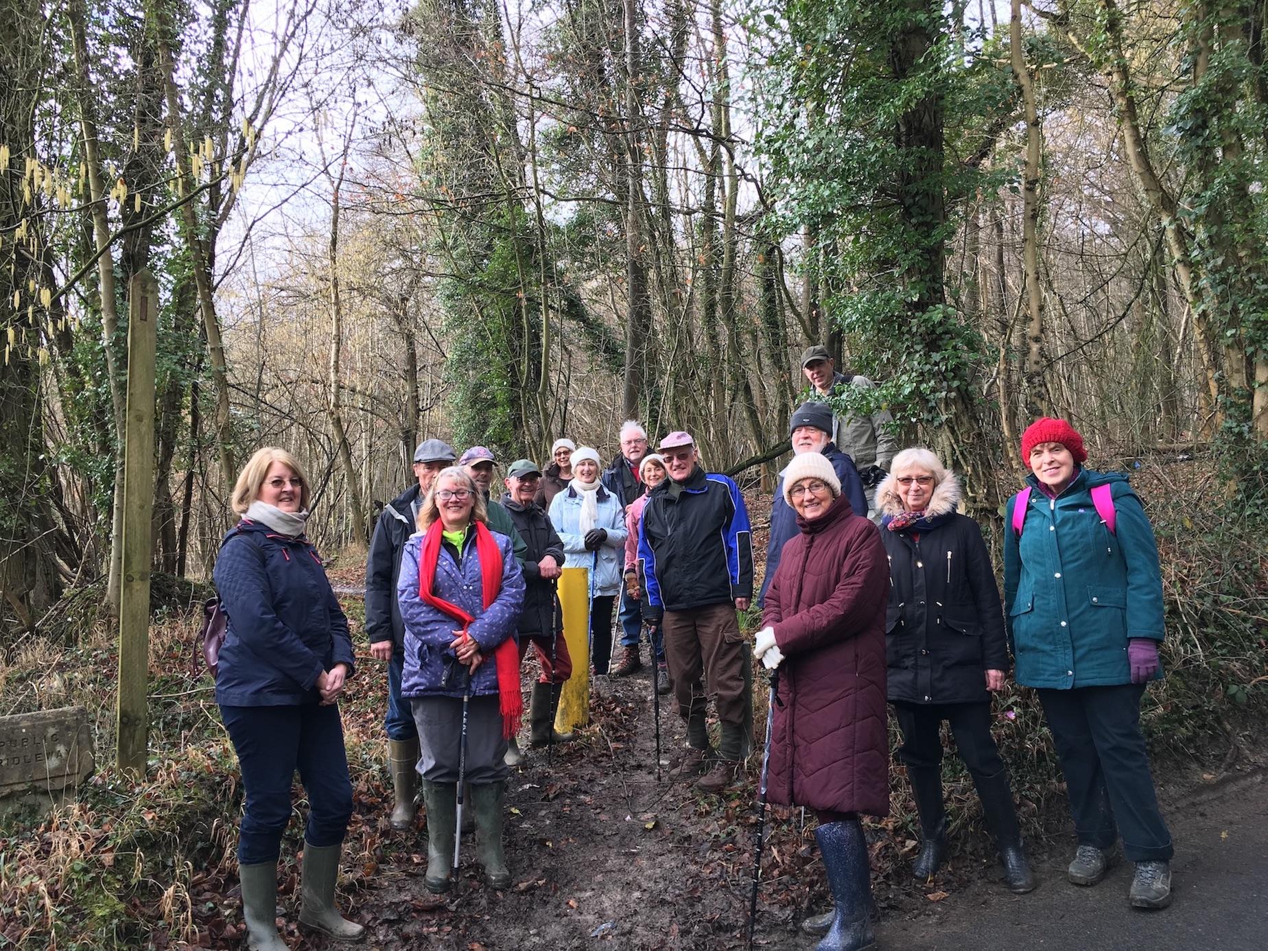 Our February Walk in Godstone