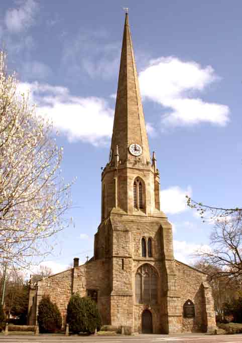 The Church of St. Mary and St. Cuthbert