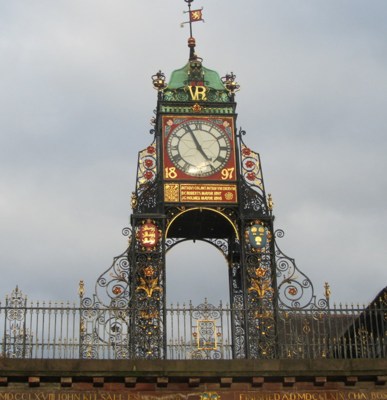EASTGATE STREET  CLOCK, CHESTER
