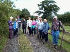 August walk at Churton