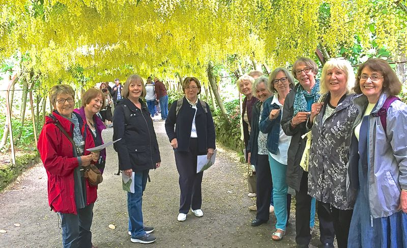 Gardening Group visit to Bodnant Gardens