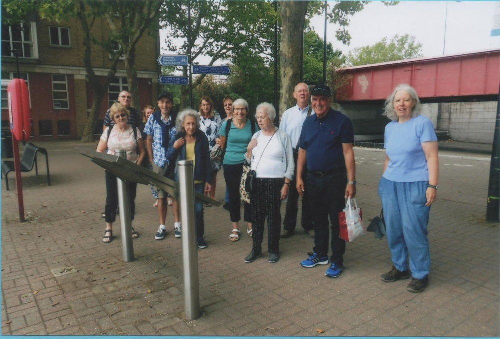 Short walkers in August at Limehouse