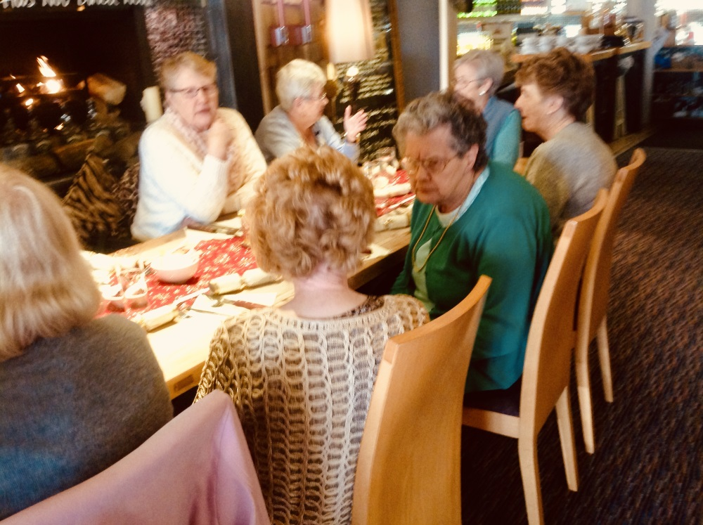 Singing for fun Xmas lunch