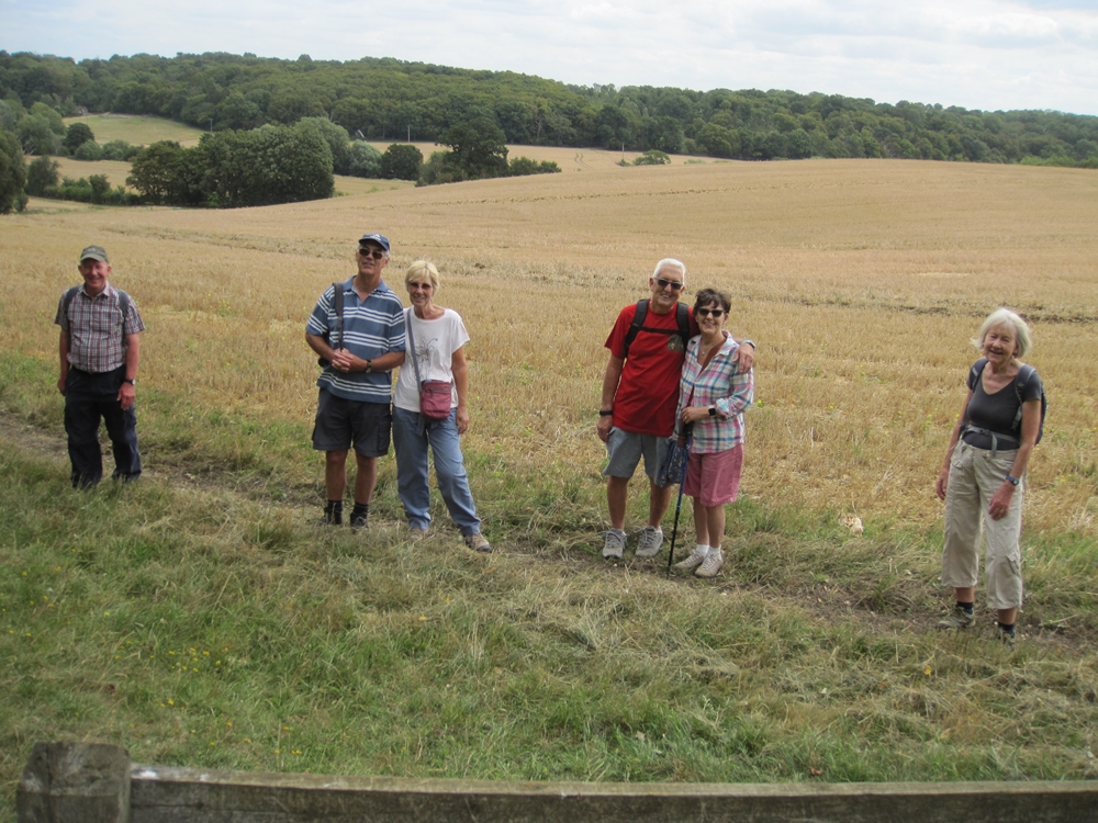 August walk and good social distancing