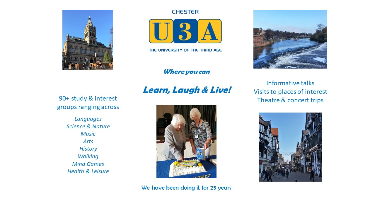 Historic Chester and its U3A