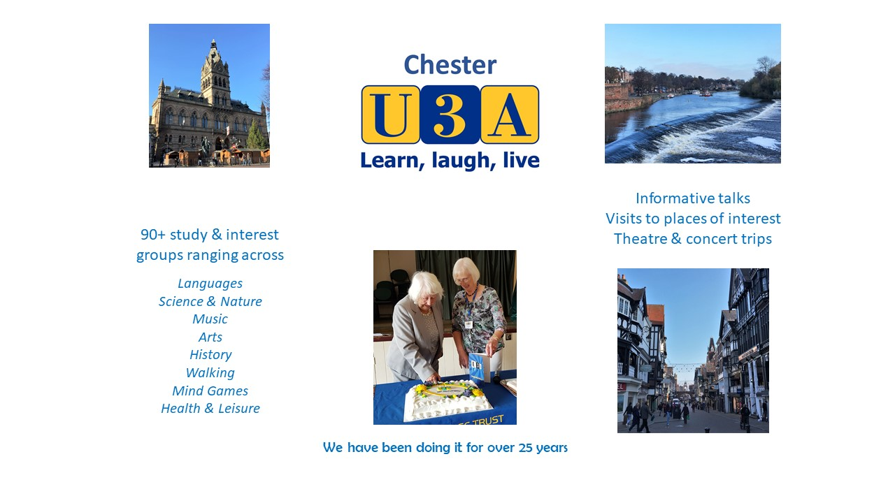 Historic Chester & Our U3A
