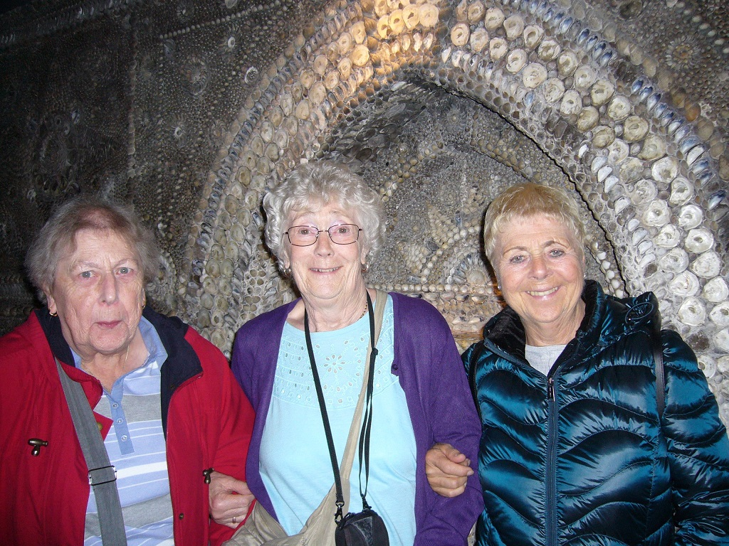At the Shell Grotto