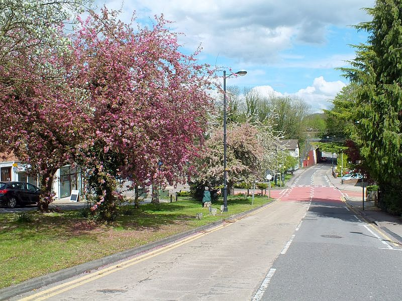Chorleywood Shire Lane - spring