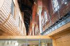 Ashton Old Baths interior with Pod