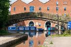 Portland Basin warehouse and bridge