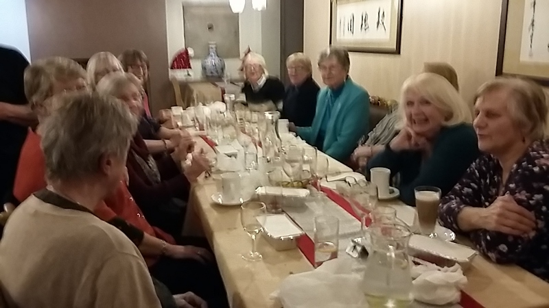 Christmas Meal 2016 Rose Orchard
