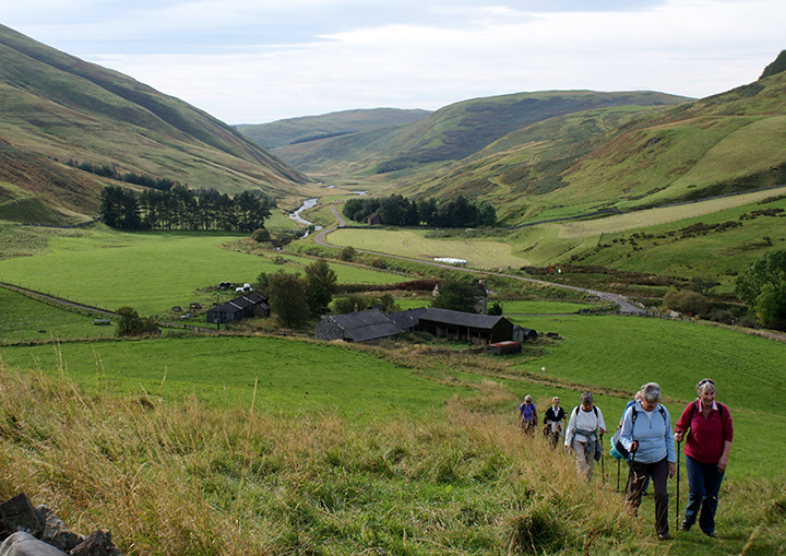 Towards the head of our beautiful Coquet