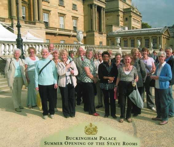 A visit to Buckingham Palace