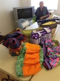 Bags made in day workshop
